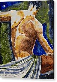 Mezzotints Acrylic Print by Brenda Clews