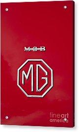 Mg Badge 1 Acrylic Print