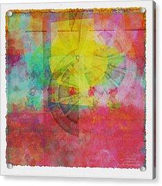 Mgl - Abstract Soft Smooth 01 Acrylic Print