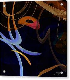 Mgl - Abstract Twirl 03 Acrylic Print