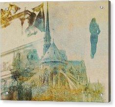 Mgl - City Collage - Paris 06 Acrylic Print
