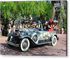 Acrylic Print featuring the photograph Mgm Famous 4 by David Nicholls
