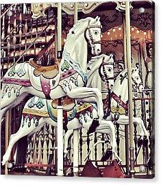 #mgmarts #horse #bestogram #instahub Acrylic Print by Marianna Mills
