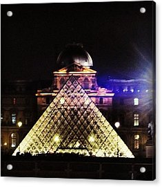#mgmarts #louvre #paris #france #europe Acrylic Print
