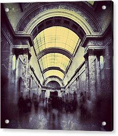 #mgmarts #paris #france #europe #louvre Acrylic Print