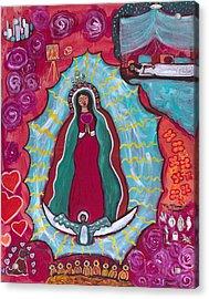 Mi Mama De Medicina Acrylic Print by Susan Risse
