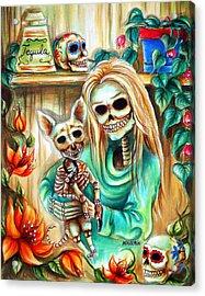 Mi Perrito Acrylic Print