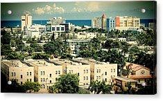 Miami Beach-0156 Acrylic Print