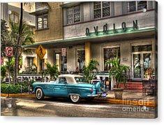 Miami Beach Art Deco 1 Acrylic Print