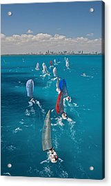 Miami Beach Regatta Acrylic Print