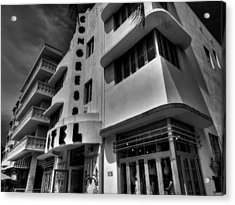 Miami - Deco District 010 Acrylic Print by Lance Vaughn