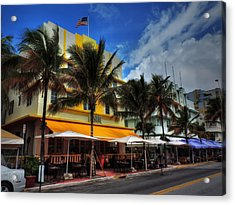 Miami - Deco District 011 Color Acrylic Print