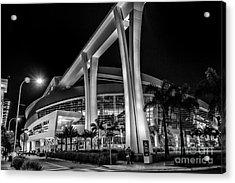 Miami Marlins Park Stadium Acrylic Print