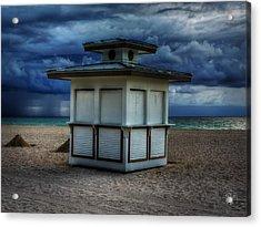 Miami - South Beach 005 Acrylic Print by Lance Vaughn