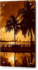 Miami South Beach Romance II Acrylic Print