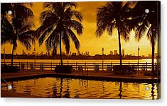 Miami South Beach Romance Acrylic Print