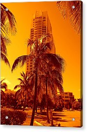Miami South Pointe Iv Acrylic Print