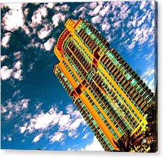 Miami South Pointe Highrise Acrylic Print