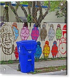 Miami Street Art Acrylic Print