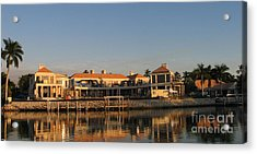 Acrylic Print featuring the painting Miami Style by Shelia Kempf