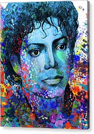Michael Jackson 14 Acrylic Print