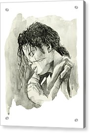 Michael Jackson 3 Acrylic Print by Bekim Art