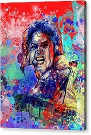Michael Jackson 8 Acrylic Print