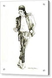 Michael Jackson Billy Jean Acrylic Print