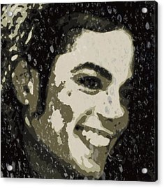 Michael Jackson Concert 3 Acrylic Print