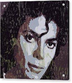 Michael Jackson Concert 4 Acrylic Print