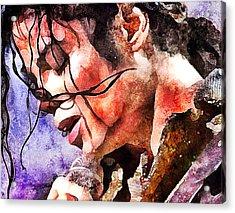 Michael Jackson Live And Alive 1 Acrylic Print