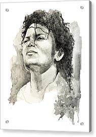 Michael Jackson Acrylic Print by Bekim Art