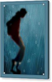 Michael Jackson Shadow Dance Acrylic Print by Paulette B Wright
