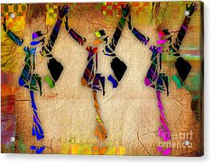 Michael Jackson This Is It Art Acrylic Print by Marvin Blaine