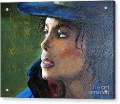 Michael Joseph Jackson Acrylic Print