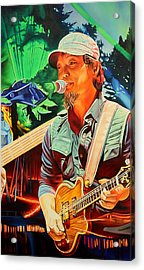 Acrylic Print featuring the painting Michael Kang At Horning's Hideout by Joshua Morton