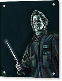 Michael Myers Acrylic Print by Vinny John Usuriello