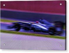 Michael Schumacher-2 Acrylic Print by Marvin Spates