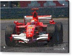 Michael Schumacher Canadian Grand Prix I Acrylic Print