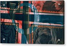 Michaelangelo's Moses 1967 Acrylic Print by Glenn Bautista