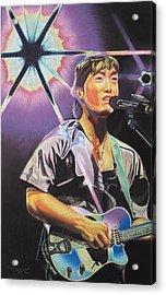 Micheal Kang Acrylic Print by Joshua Morton