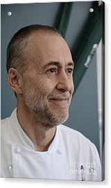 Michel Roux Jr. Acrylic Print by CandyAppleRed Images