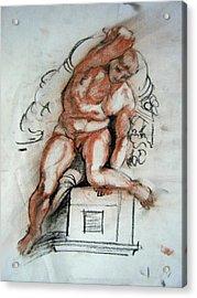 Michelangelo Study Acrylic Print