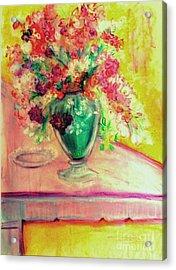 Michelangelo's Vase Acrylic Print by Helena Bebirian