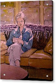 Michele's Mom Acrylic Print