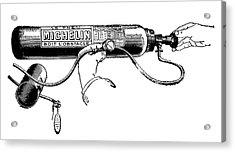 Michelin Air Cylinder Acrylic Print