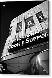 Michigan Book And Supply Acrylic Print