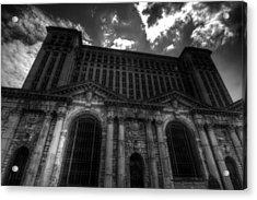 Michigan Central Station Highrise Acrylic Print