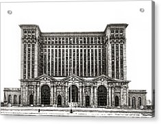 Michigan Central Station Acrylic Print