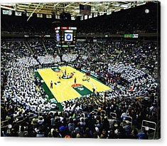 Michigan State Spartans Jack Breslin Student Events Center Acrylic Print by Replay Photos
